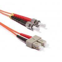 Duplex ST-SC patch kábel, OM2 50/125 µm