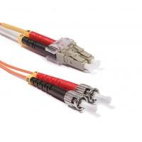 Duplex LC-ST patch kábel, OM2 50/125 µm