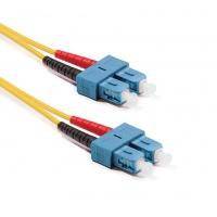 Duplex SC-SC patch kábel, OS2 9/125 µm (ITU-T G.652.D)