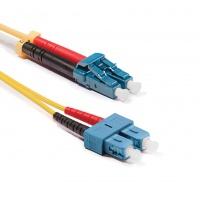 Duplex LC-SC patch kábel, OS2 9/125 µm (ITU-T G.652.D)