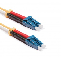 Duplex LC-LC patch kábel,  OS2 9/125 µm (ITU-T G.652.D)